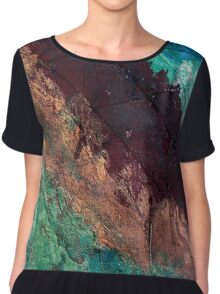 Mixed media 04 by rafi talby Chiffon Top