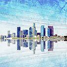 Los Angeles Skyline by Janet Antepara