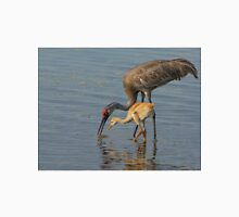 Feeding Sandhill Cranes Unisex T-Shirt