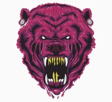 Krewella Bear Logo - Killin It by Steborg