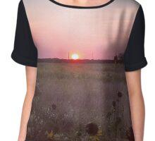 Sunset  Chiffon Top