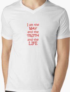 John 14:6 Mens V-Neck T-Shirt