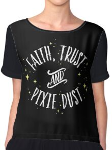 Faith Trust and Pixie Dust // Peter Pan Tshirt Chiffon Top