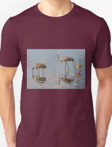 Sandhill crane family Unisex T-Shirt