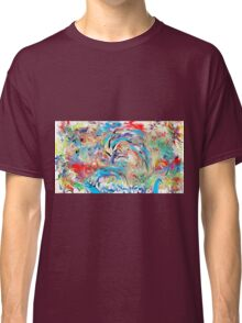 Abstract Waves Classic T-Shirt