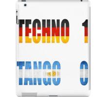 Techno world champion iPad Case/Skin