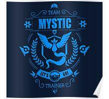 Pokemon Go | Team Mystic | Dark Blue Background | HUGE | New! | High Quality! Poster