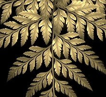 Gold Leaf Fern by Jessica Jenney