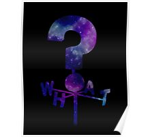 The Mystery Shack Question Mark Weathervane Poster