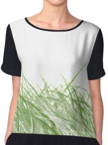 Grass Chiffon Top