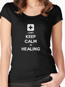 Can't Keep Calm - Healer Women's Fitted Scoop T-Shirt