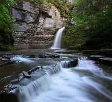 Eagle Cliff Falls, Village of Montour Falls, New York by DArthurBrown
