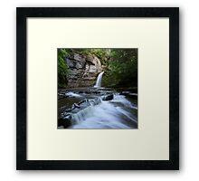 Eagle Cliff Falls, Village of Montour Falls, New York Framed Print