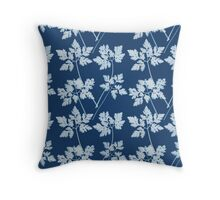 Cyanotype [2nd Edition] Throw Pillow