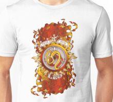 Fiery LEO Zodiac Design Unisex T-Shirt