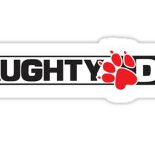 Naughty Dog Logo Sticker