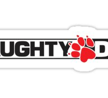 Naughty Dog Logo Sticker