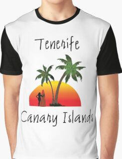 Tenerife Canary Islands Graphic T-Shirt