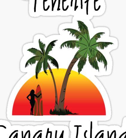 Tenerife Canary Islands Sticker