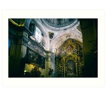 Church Of Light Art Print