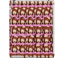 Sassy Emoji Collage iPad Case/Skin