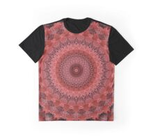 Mandala in red tones Graphic T-Shirt