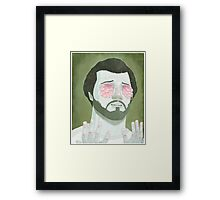 cry yer brains out Framed Print