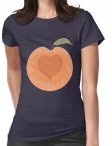 Peachy Womens Fitted T-Shirt