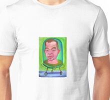 Francis Bacon en la maquina genética duplicadora por Diego Manuel Unisex T-Shirt