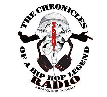 The Chronicles of a Hip Hop Legend (TCOHHL) Radio - Flagship Photographic Print