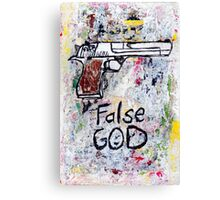 False God Canvas Print