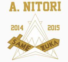Samezuka Academy S2 Nitori by stripedtabby