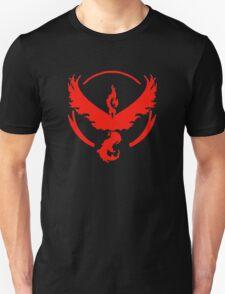 Pokemon Go | Team Valor | Black Background | HUGE | New! | High Quality! Unisex T-Shirt