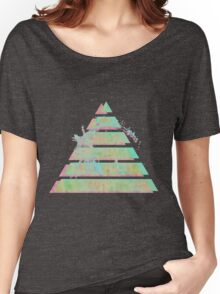Vaporwave Pyramid Women's Relaxed Fit T-Shirt