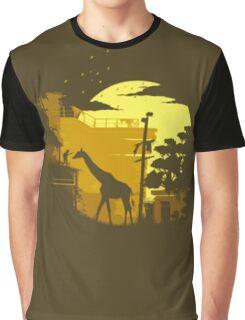 The Last of Us Giraffe Yellow Graphic T-Shirt