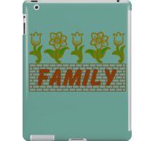 Flowers Family iPad Case/Skin