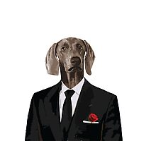 The Dog Father - Godfather parody Photographic Print