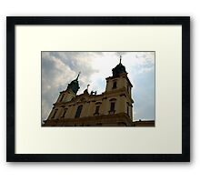 Holy Cross church, Warsaw, Poland Framed Print