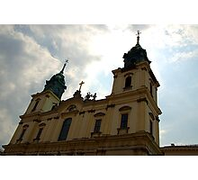 Holy Cross church, Warsaw, Poland Photographic Print