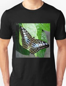 Blue Tiger Butterfly Unisex T-Shirt