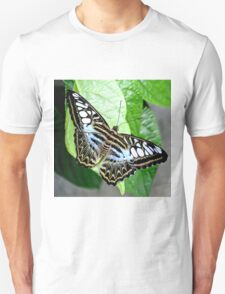 Blue Tiger Butterfly Unisex T-Shirt