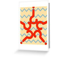 Seventh Doctor Who (Sylvester McCoy) Greeting Card