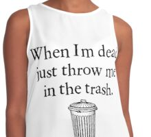 Take Out The Tresh Contrast Tank