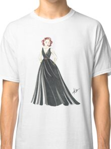 Black Widow, Evening Gown  Classic T-Shirt