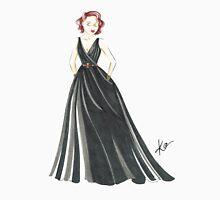 Black Widow, Evening Gown  Unisex T-Shirt