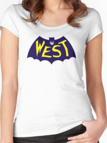 Go WEST! Women's Fitted Scoop T-Shirt