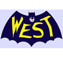 Go WEST! Photographic Print