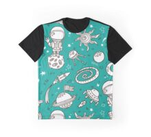 doodle hand drawn  pattern Graphic T-Shirt