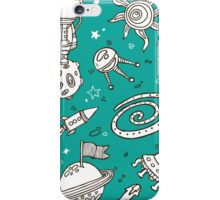doodle hand drawn  pattern iPhone Case/Skin