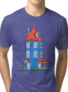 Moomin House Tri-blend T-Shirt